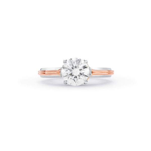 Unconditionally yours round brilliant solitaire