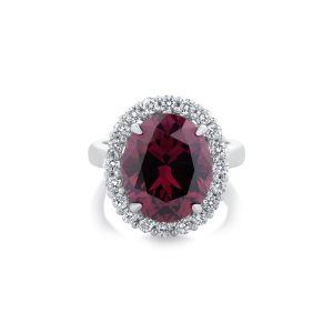Pink spinel diamond ring_A4457_1