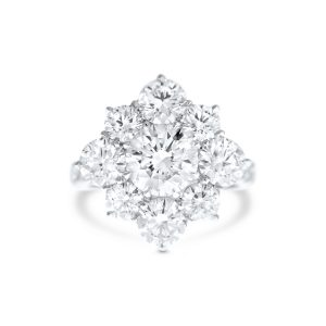 Cluster Set diamond ring 10248