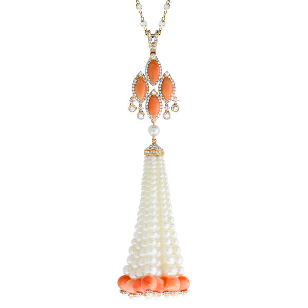 Art Deco tassel necklace