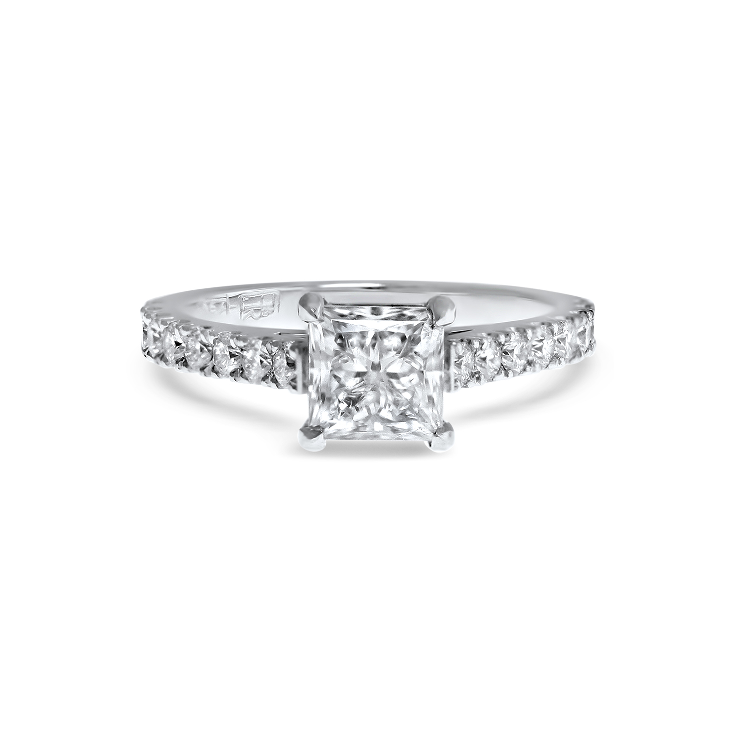 diamond rings cut vintage diamondstud engagement princess jewellery