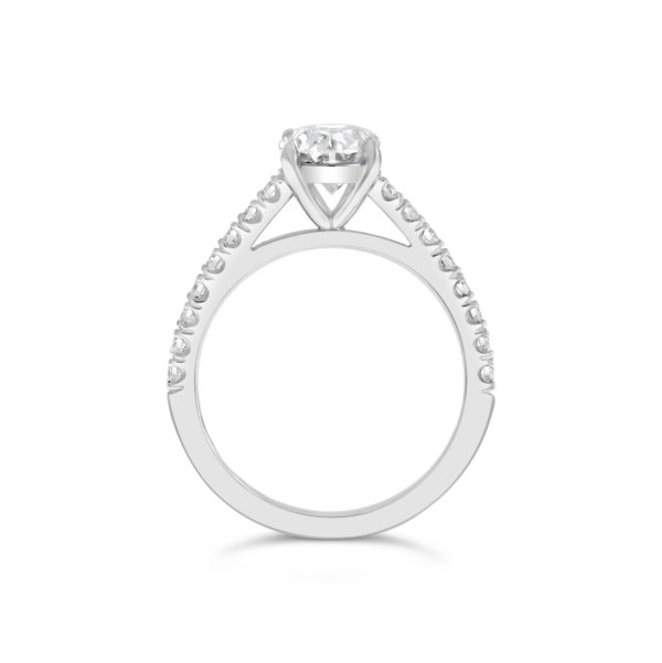 1 G2303_B_Oval Cut Engagement Ring