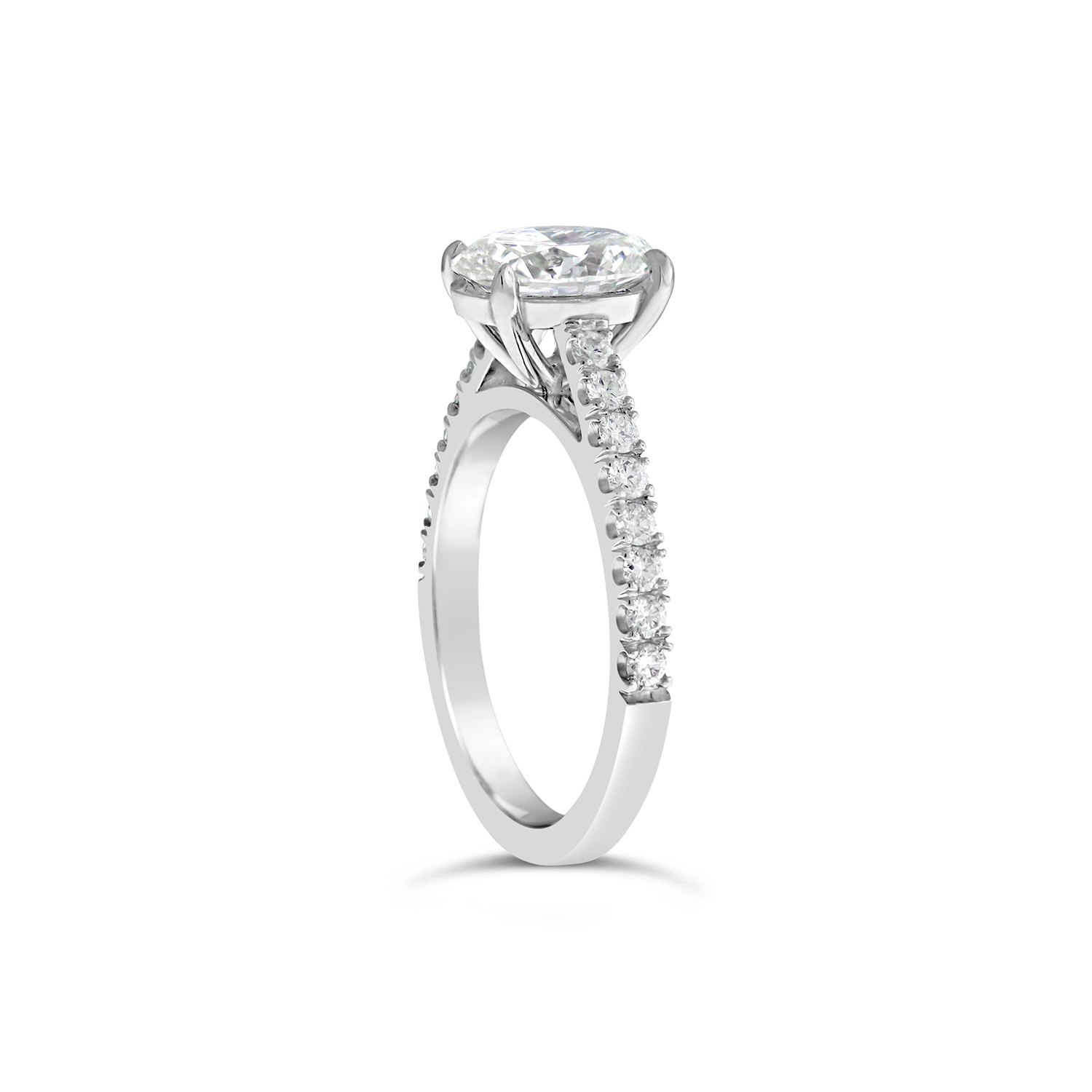 1 G2303_C_Oval Cut Engagement Ring