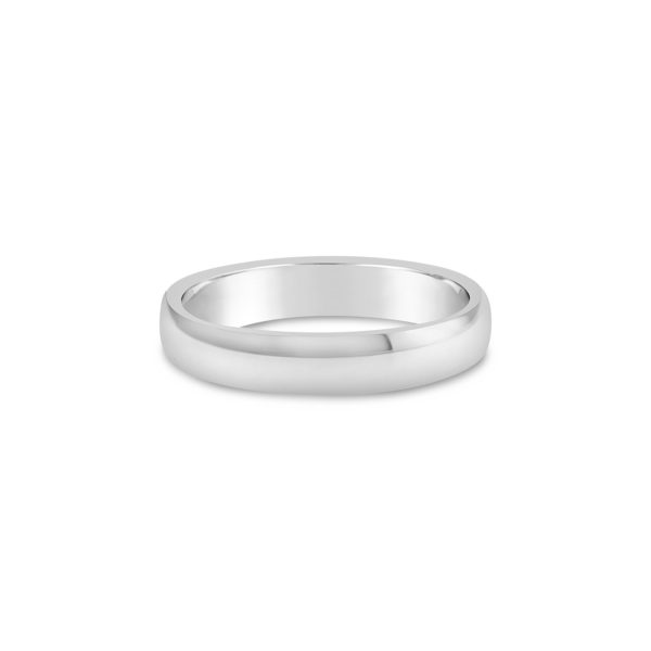 11333 Clean simple mens wedding ring 2
