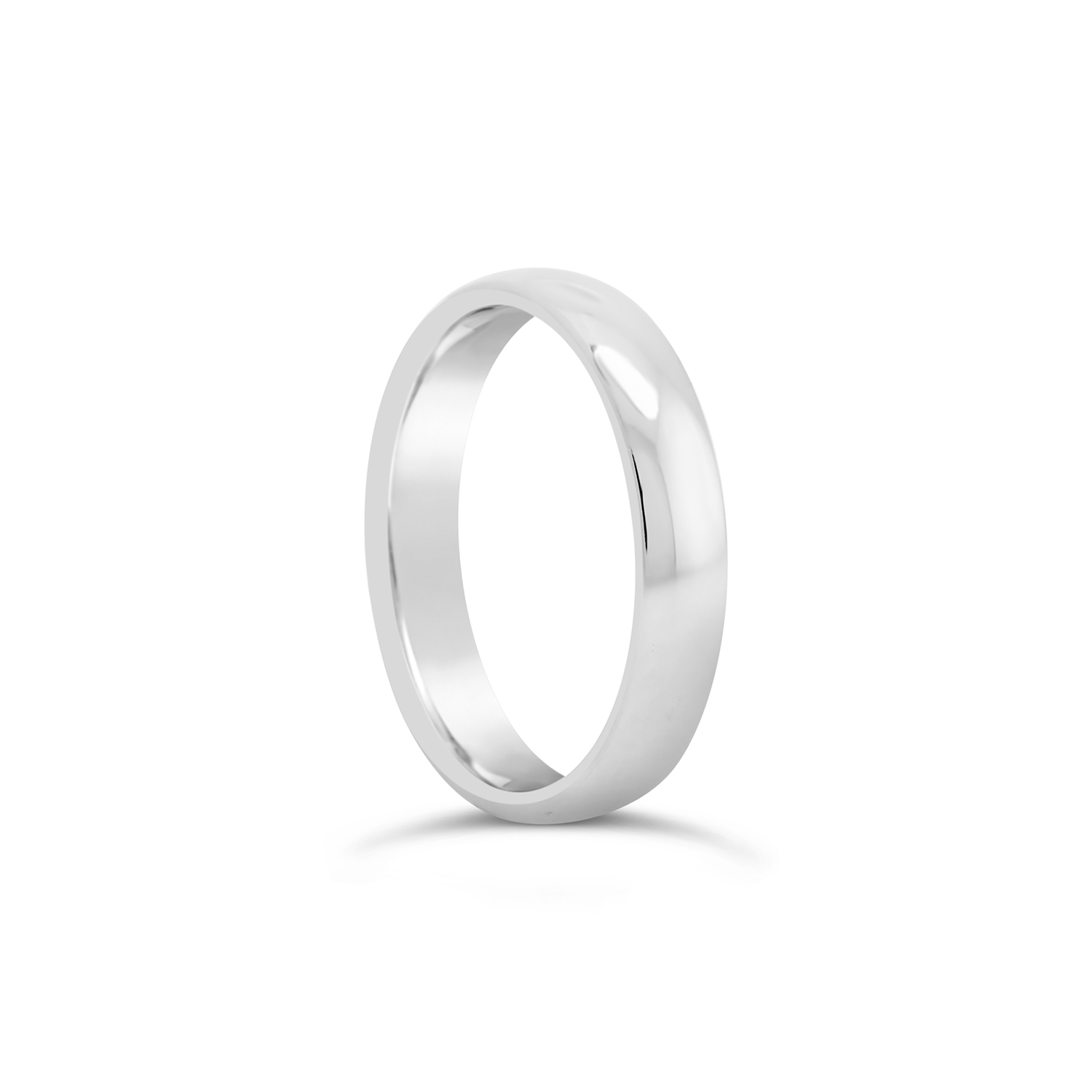 11333 Clean simple mens wedding ring