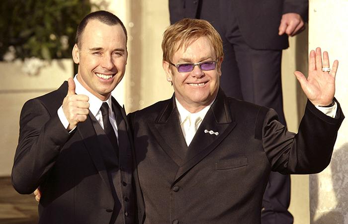 Famous Married Gay Couples Elton John David Furnish