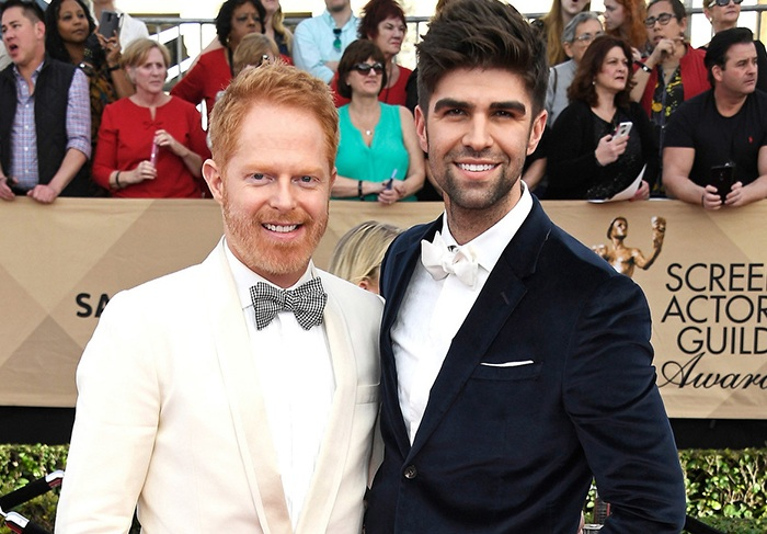 Famous Married Gay Couples Jesse Tyler Ferguson and Justin Mikita