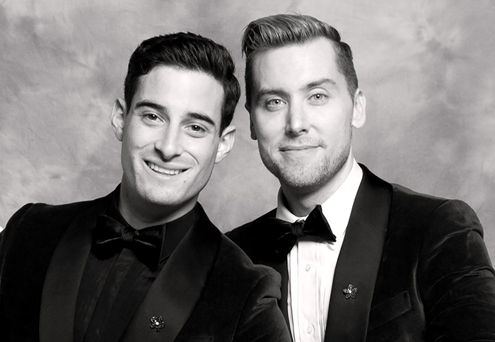 Famous Married Gay Couples Lance Bass and Michael Turchin