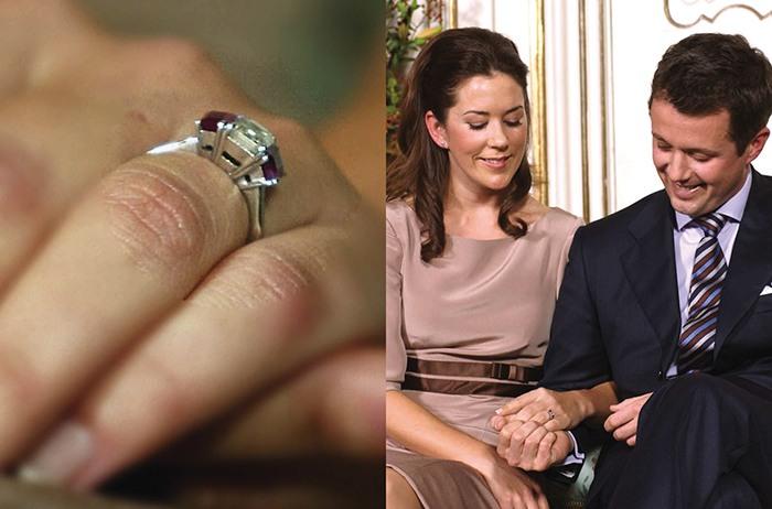 Royal engagement ring Crown Princess Mary Donaldson