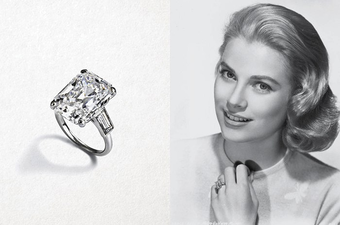 Marvelous Royal Engagement Ring Grace Kelly