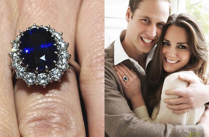 Royal engagement ring Katherine Middleton