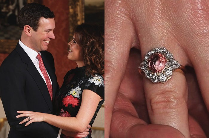 Royal engagement ring Princess Eugenie