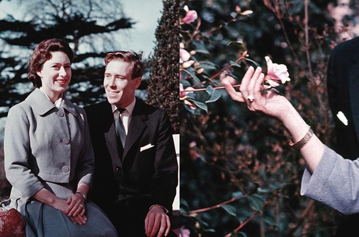 Royal engagement ring Princess Margaret
