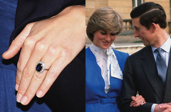 The 185ct Sapphire Matched Future Princesss Eyes And Is Encircled By 14 Diamonds When Asked Why She Chose That Engagement Ring Was Once Quoted