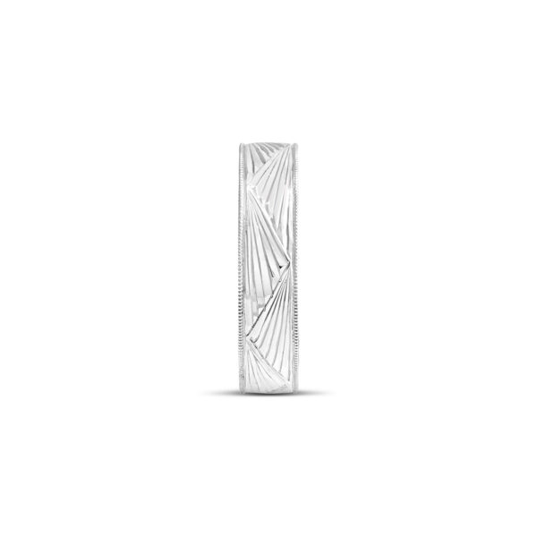 Millgrain Art Deco Patterned Ring - Fairfax and Roberts