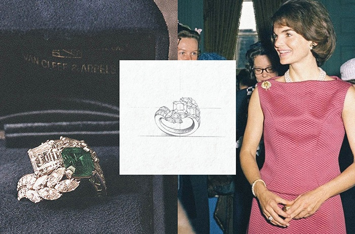 The Gemstone Engagement Ring Ruby Jackie Kennedy