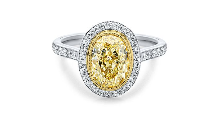 Yellow diamond ring 4