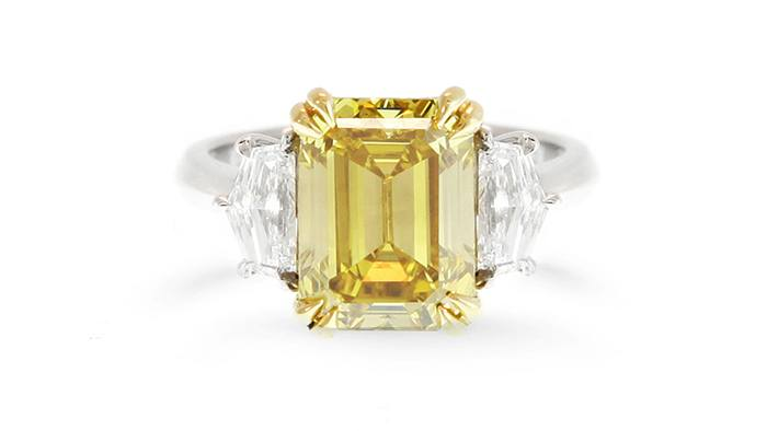 yellow diamond ring 5