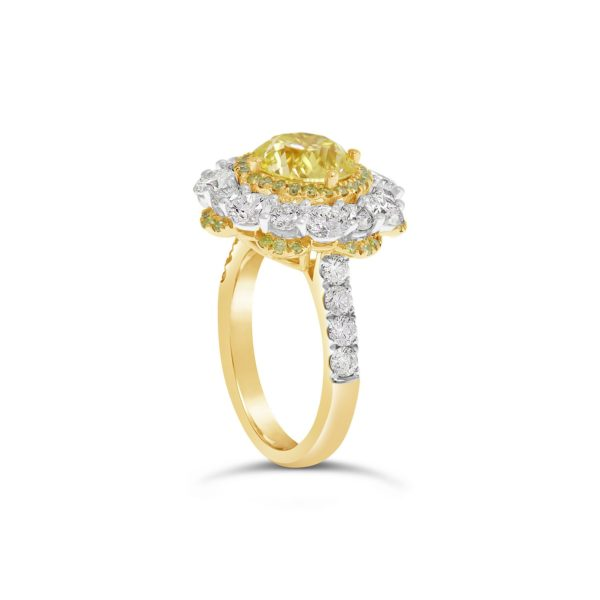 Yellow diamond ring 2