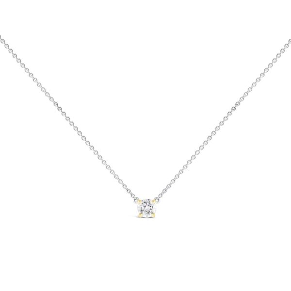 Solitaire Diamond Necklace