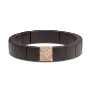G3063 Roberto Demeglio Domino Collection ceramic bracelet