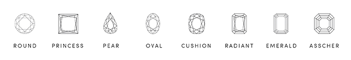 Design An Engagement Ring Select a cut