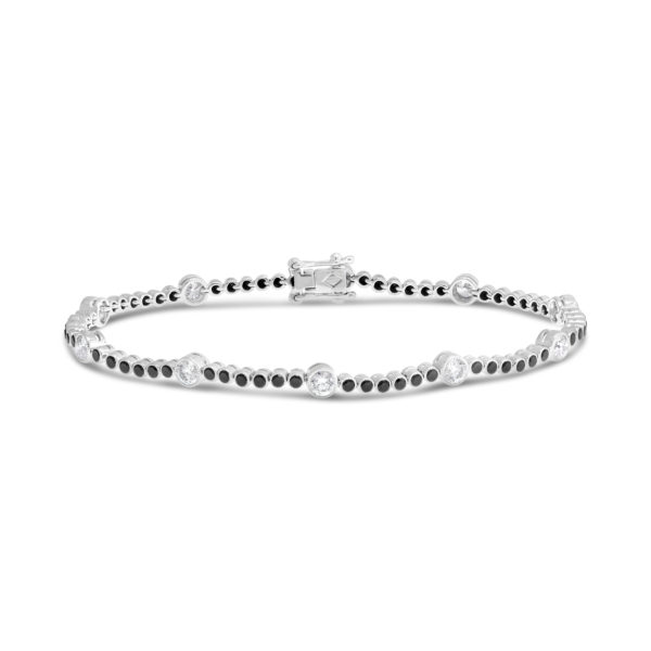 G2456 Brack diamond tennis bracelet