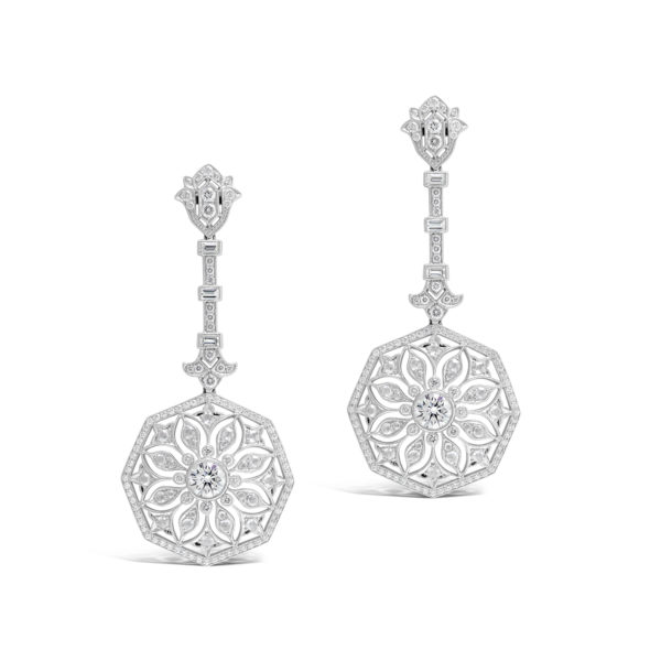 G2175 Art Deco Earrings