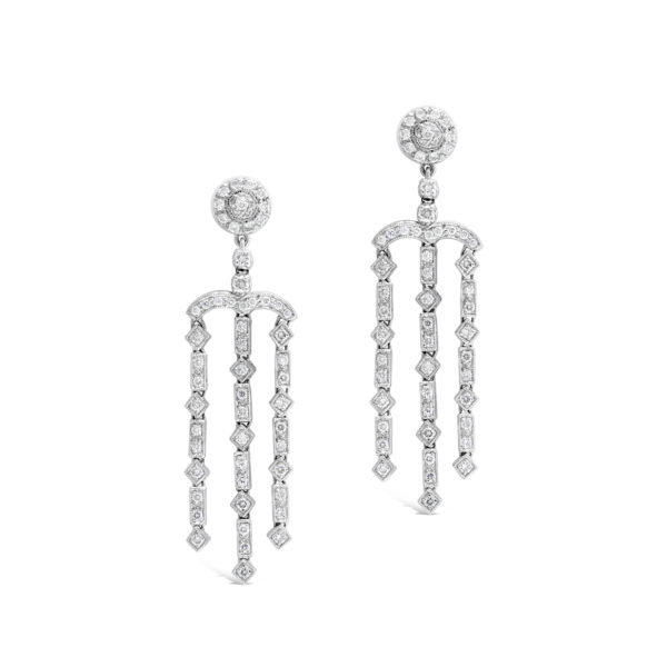 G2288 Art Deco Earrings 2