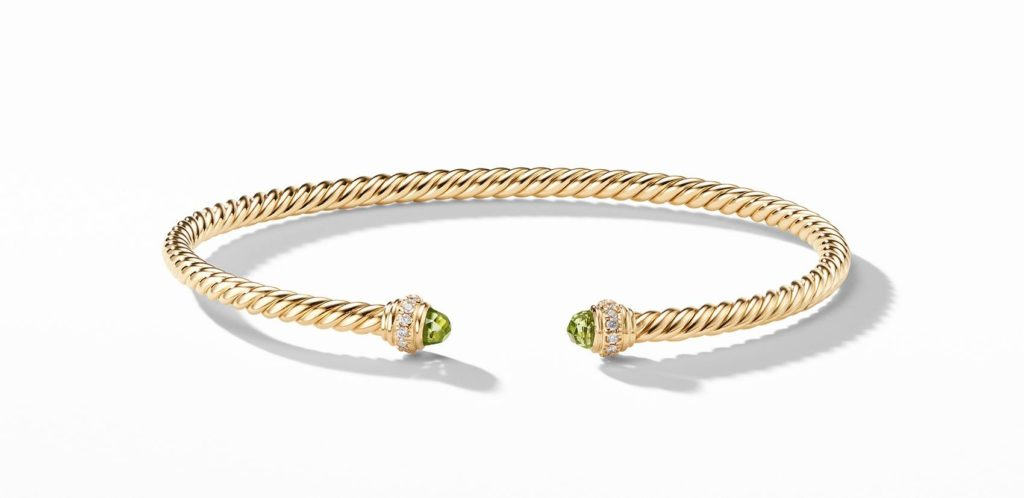 Push Present Gift Ideas4_David Yurman Cable Bracelet