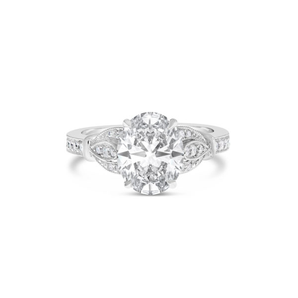 Vintage style engagement ring 1