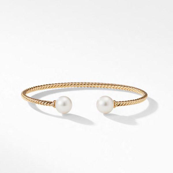 David Yurman Solari Bead Bracelet with Pearl