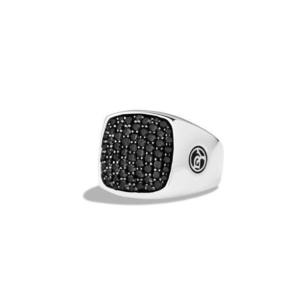 david-yurman-SilverBlack-Pave-Signet-Ring-With-Black-Diamonds