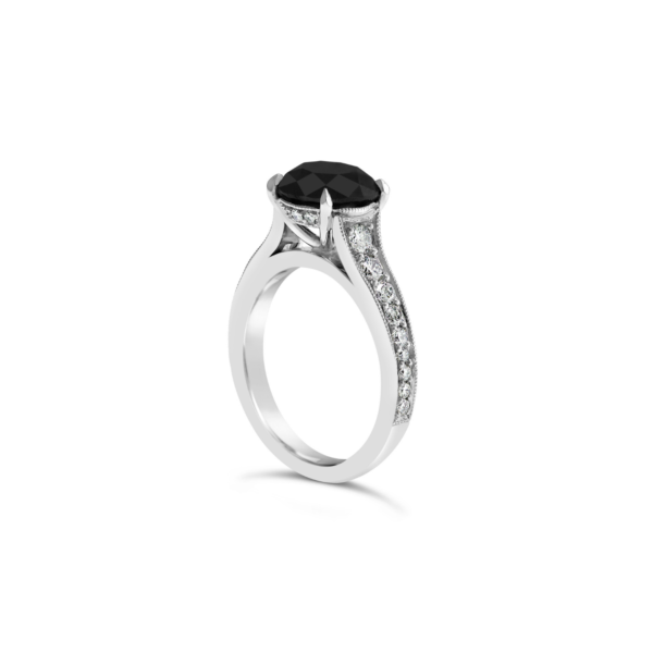 Black diamond engagement ring5
