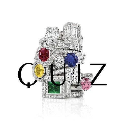 Gemstone Engagement Ring vs. Diamond quiz