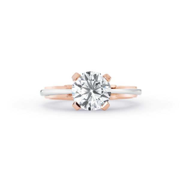 Round Brilliant Cut Solitaire Diamond Ring