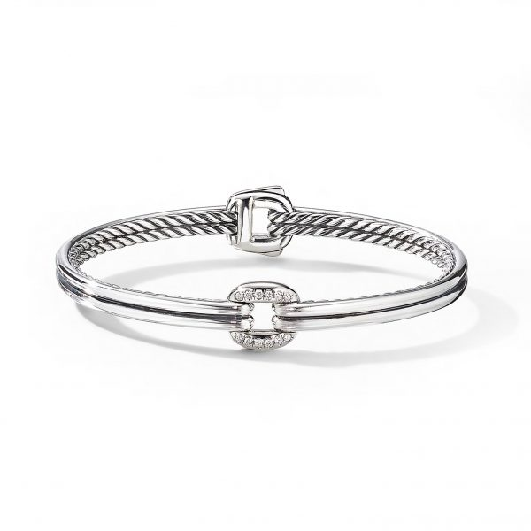 David Yurman Thoroughbred Centre Link Bracelet