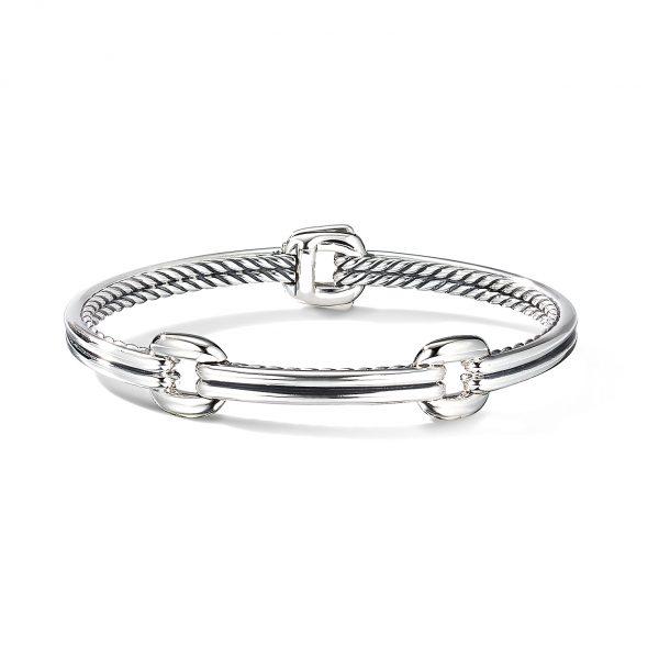 David Yurman Thoroughbred Double Link Bracelet