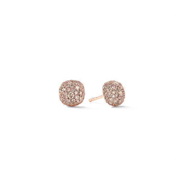 David Yurman Small Cushion Stud Earrings