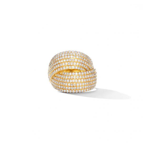 David Yurman Origami Crossover Ring
