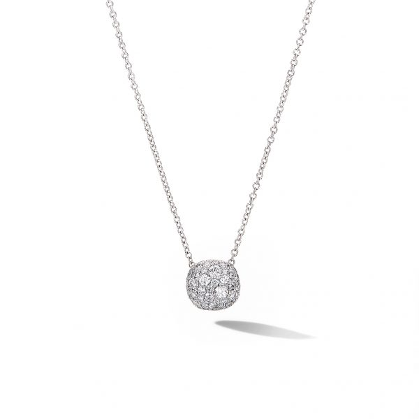 David Yurman Cushion Stud Pendant