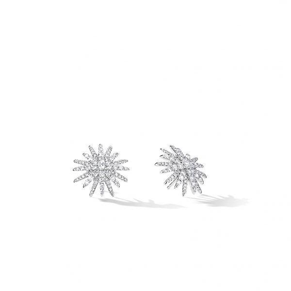 David Yurman Starburst Stud Earrings
