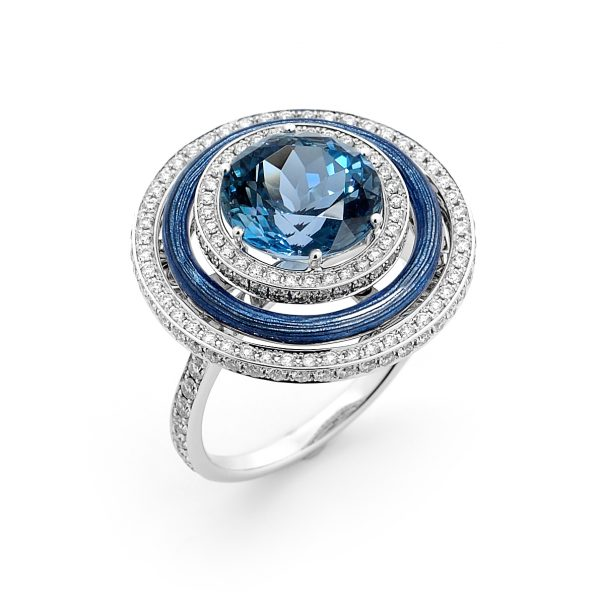 Victor Mayer Aquamarine Dress Ring