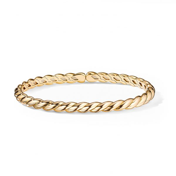 David Yurman Gold Flex Bracelet