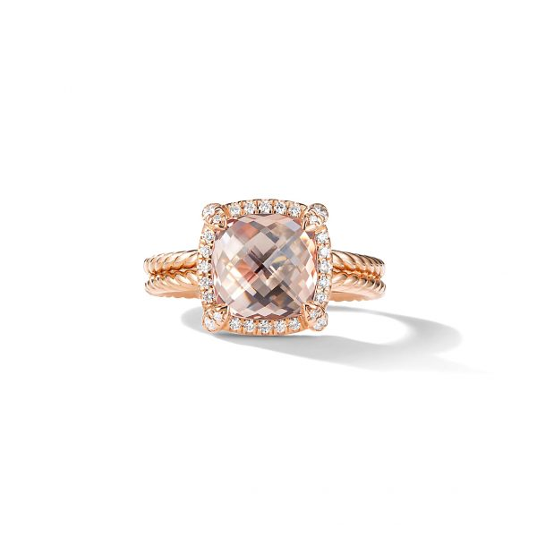 David Yurman Chatelaine Pave Bezel Ring