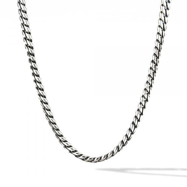 David Yurman Curb Chain Necklace