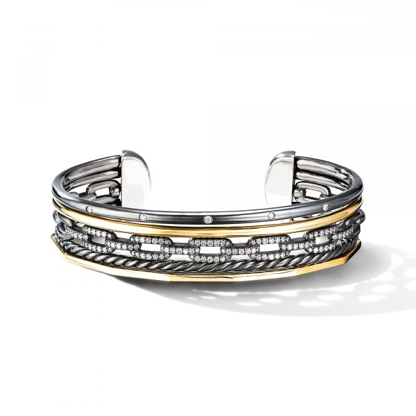 David Yurman Stax Five-Row Cuff Bracelet