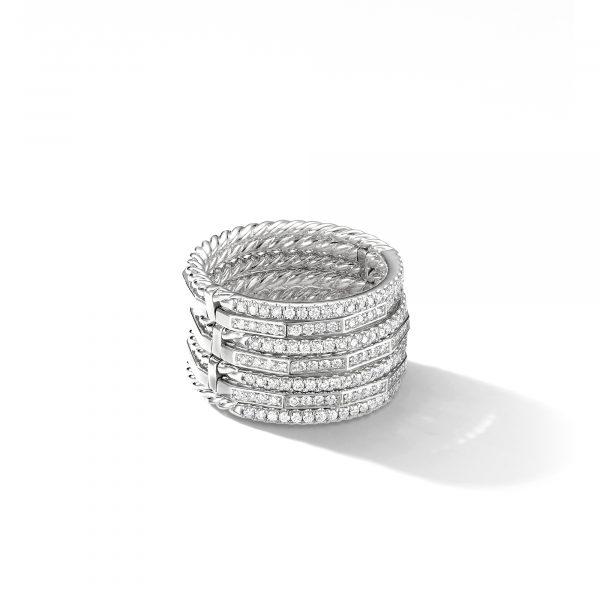 David Yurman Stax Full Pavé Ring