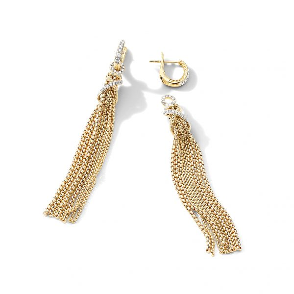 David Yurman Helena Tassel Earrings