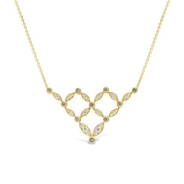 Mademoiselle de Paris Diamond Necklace